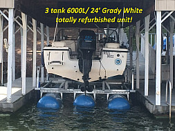 6000 L 3 Tank Refurbished under 24' Grady White - Lake Norman, NC