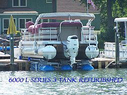 6000 L 3 Tank Refurbished under 24' Tritoon - Lake Norman, NC