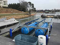 6000 L Refurbished set up for V-Hull - Lake Norman, NC