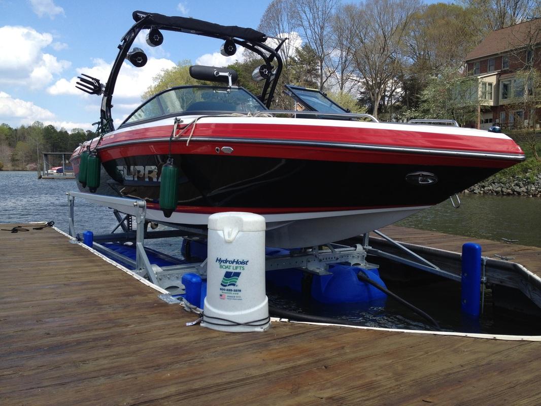 6600 Ultra under a 22' Supra - Lake Norman, NC