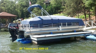 5000 US under 25' Tritoon - Lake Norman, NC