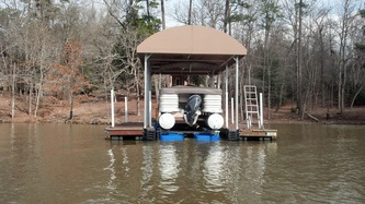 5000 US under 24' Pontoon - Lake Badin, NC